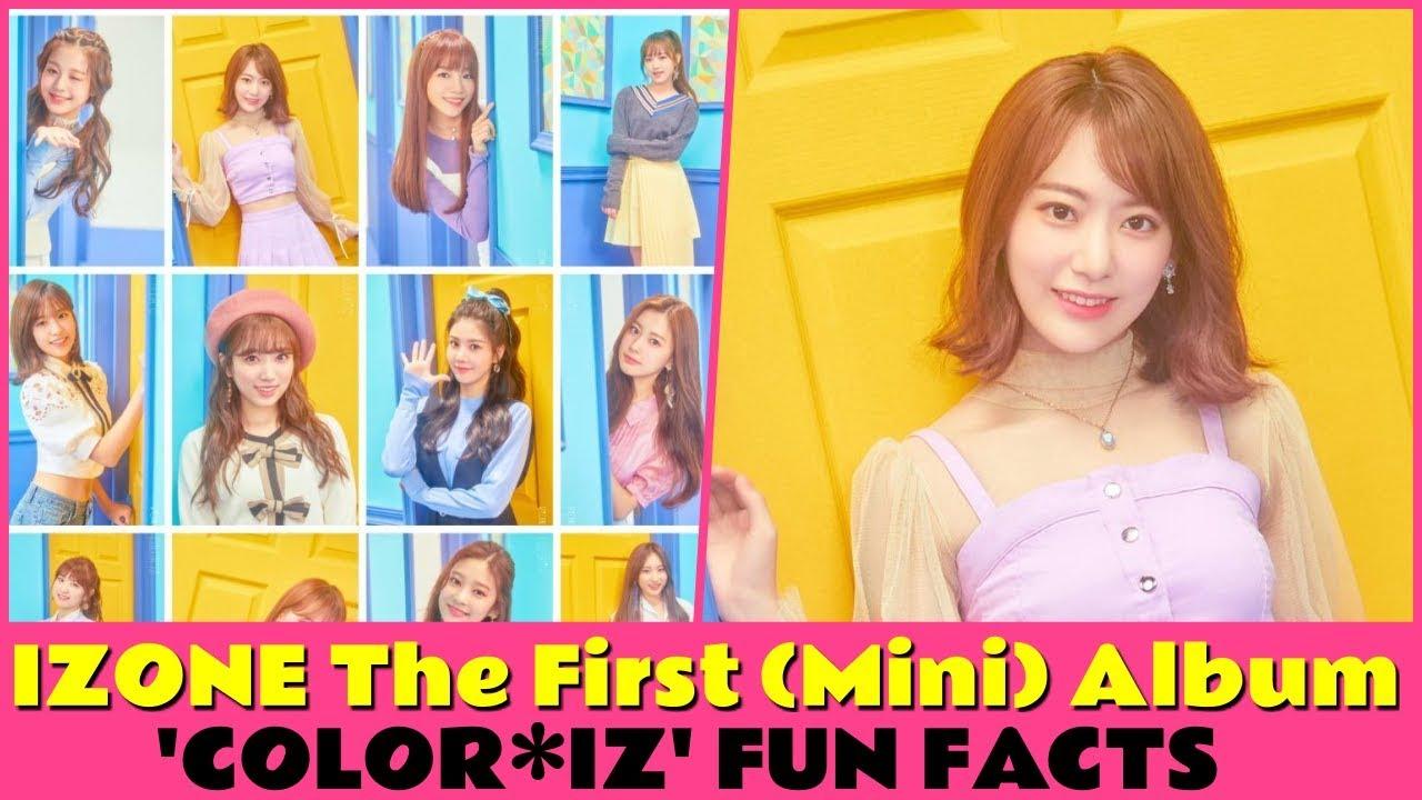 IZONE The First (Mini) Album 'COLOR*IZ' FUN FACTS