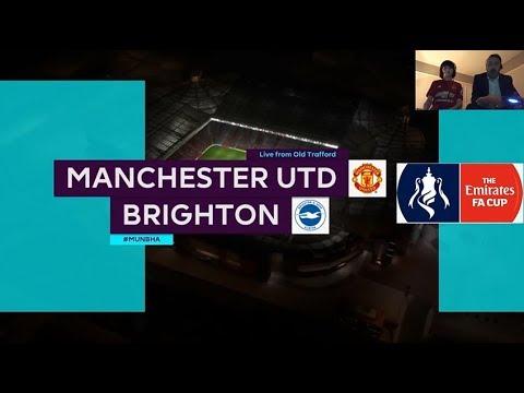 FIFA 18 PS4   Manchester United v Brighton & Hove Albion   GAMEPLAY