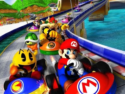 Generate Mario Kart Arcade GP 2 - PAC-Man Cup - 150cc Pictures