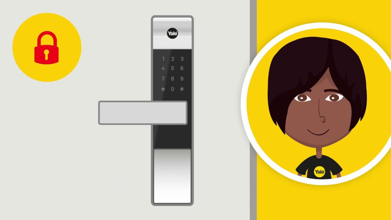 Yale Smart Locks - Mechanical Key Override