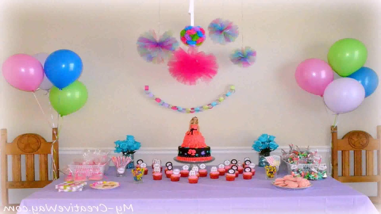 Simple Birthday Stage Decoration Ideas You
