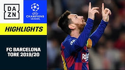 FC Barcelona: Alle UCL-Tore 19/20 | UEFA Champions League | DAZN Highlights