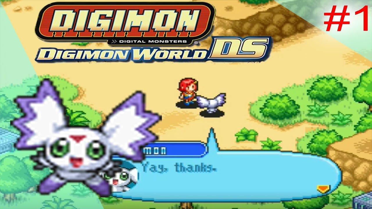Digimon World DS Walkthrough Gameplay Part 1 : Prologue