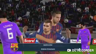 Barcelona Vs Liverpool || Griezmann and De Jong included in Barcelona starting XI ||DLS2019||