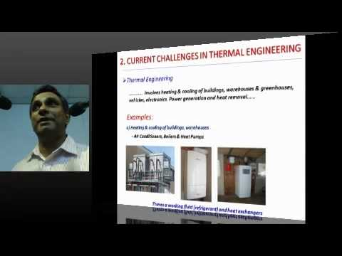 MESC PUBLIC LECTURE : Nanotechnology in Thermal Engineering