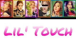 Cover images Girls' Generation-Oh!GG + YOU (6 members) - 몰랐니 (Lil' Touch)