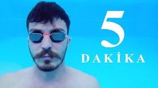 SUYUN ALTINDA NASIL 5 DK NEFES TUTULUR? (Eğitim Videosu)