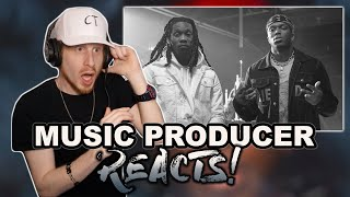 Music Producer Reacts to KSI - Cap (feat. Offset)