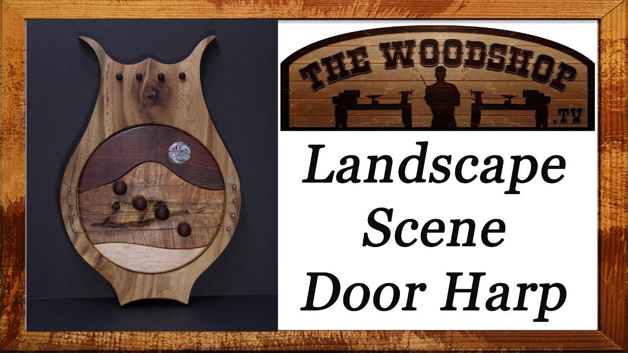 Woodworking Project DIY Door Harp  sc 1 st  YouTube & Woodworking Project DIY Door Harp - YouTube