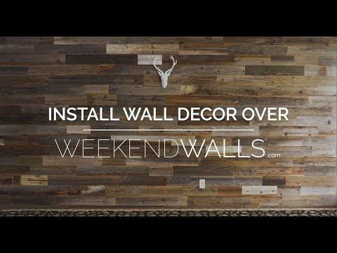 Weekend Walls - Install Wall Decor
