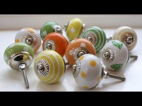 Come personalizzare i POMELLI/MANIGLIE dei Mobili ❤ Handmade Knobs