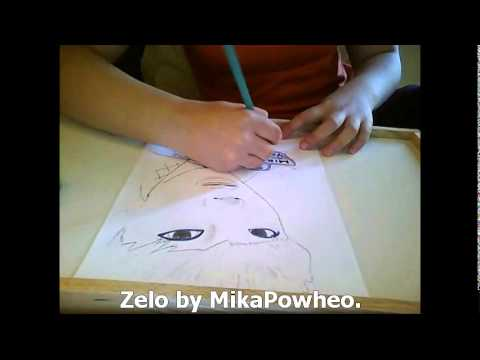 Zelo (젤로) of B.A.P - Speed drawing [MikaPowheo]