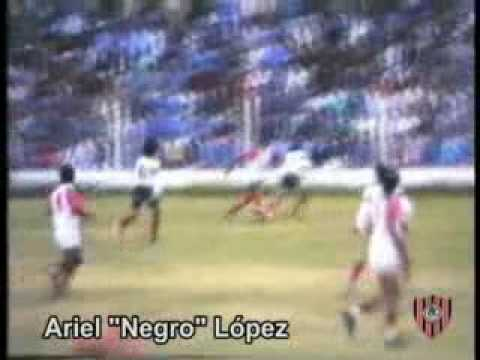 Ariel Negro Lopez Jugada Independiente Machigasta 1992-93