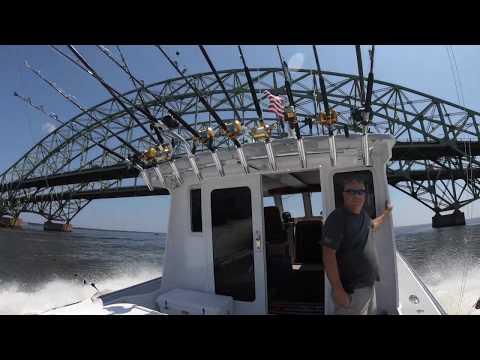 Tuna Fishing Off Long Island