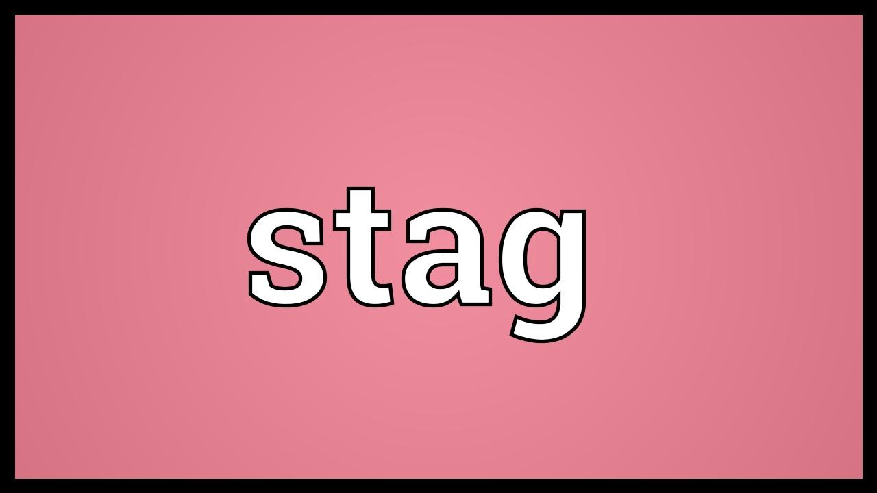 Gender of is the stag what opposite Stag