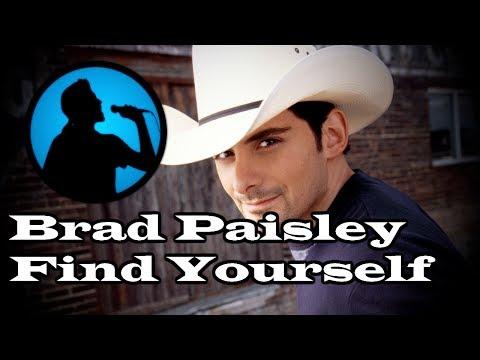 Brad Paisley - Find Yourself (Karaoke)