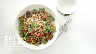 Make-Ahead Soba Salad with Charred Eggplant  - Eat Clean with Shira Bocar