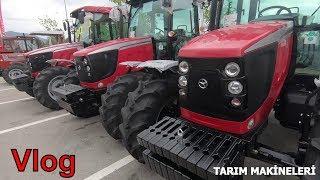 Tüyap Samsun Tarım Fuarı 2018 Vlog  Tarım Makineleri