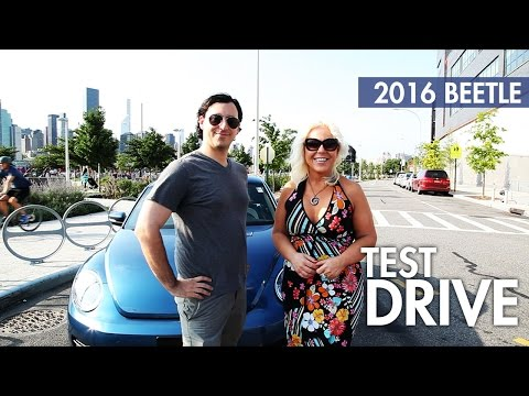 CAR NEWS NETWORK VIDEO TEST DRIVE REVIEW | 2016 Volkswagen VW Beetle