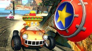 Sonic Boom Araba Yarışlarında Şempanze Amigo ile Korku Evindeyiz 10. Bölüm