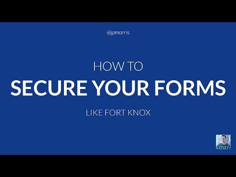 How to Secure Your PHP Forms