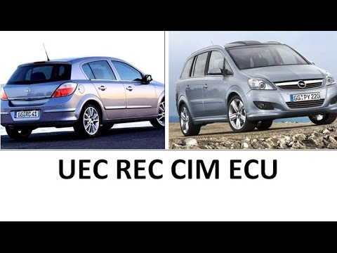 What and where is UEC REC CIM ECU Opel Vauxhall