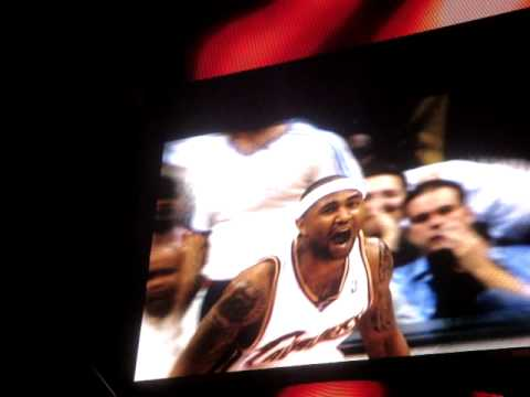 Cleveland Cavaliers 2008-09 Playoff Introductions