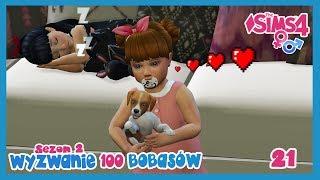 The Sims 4  Wyzwanie 100 Bobasów  • Nowy przyjaciel do kochania! •    S2    #21   