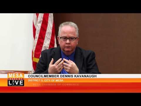 Mesa Councilmember Dennis Kavanaugh discusses the Fiesta District 1