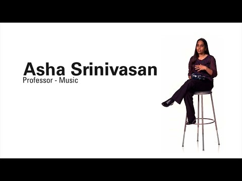 Faculty Profile - Asha Srinivasan (Professor of Music)