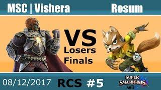Baixar RCS #5 Smash Wii U LFs - MSC | Vishera (Ganondorf) vs Rosum (Fox)