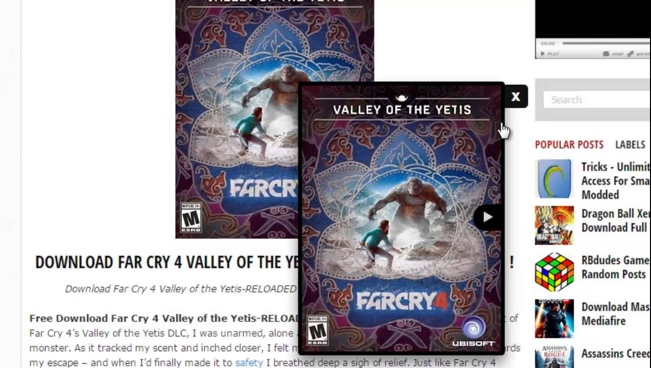 far cry 4 valley of the yetis free download