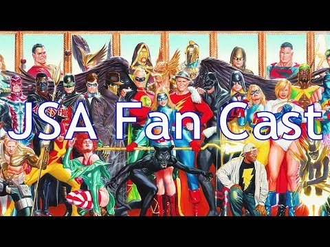 Justice Society of America Fan Cast (Revised DCEU Fan Cast Part 7)