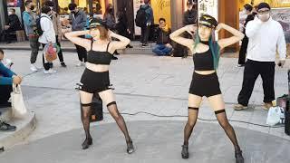 서유댄스팀#여자대통령#201114#홍대버스킹