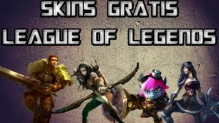 League of Legends- Como ganhar as skins Ashe Britânia, Riot Tristana, Bandit Sivir, Commando Garen