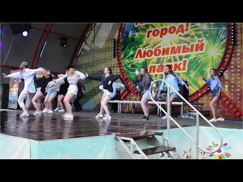 Gorky Park in Kharkov, 9 July 2017 with Michael Mordinson