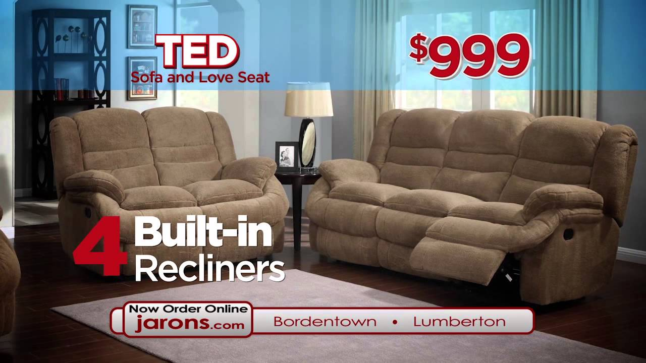 Jarons Ted Super Soft Recliner Sofa And Recliner Loveseat 999 Youtube