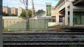 냉연 코일 화물열차 화서역 통과