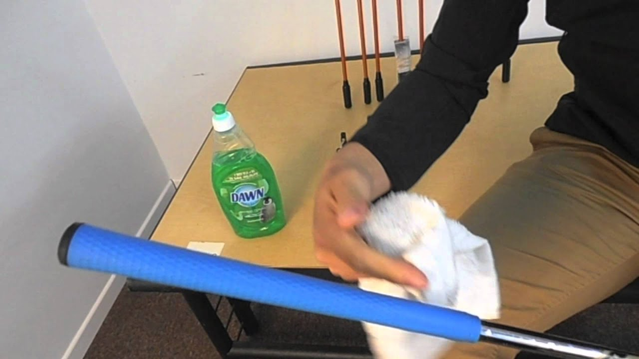 How to clean your golf club grips at home tutorial www for Fairway house cleaning
