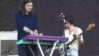 TAME IMPALA - LET IT HAPPEN w tour intro live GOVERNORS BALL NYC 2015