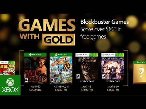 Xbox - April Games with Gold
