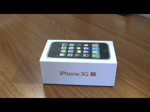 Thumbnail: iPhone 3GS Launch Day Unboxing. 32GB White Version.