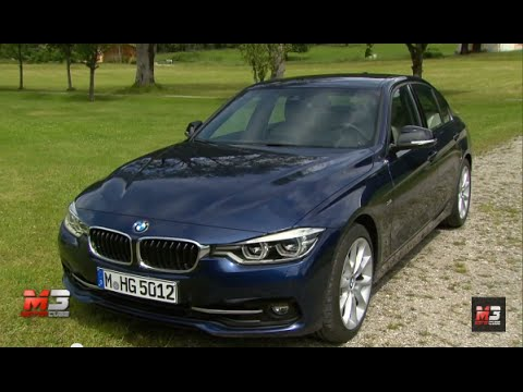 new bmw serie 3 sport line 2016 first test drive youtube. Black Bedroom Furniture Sets. Home Design Ideas