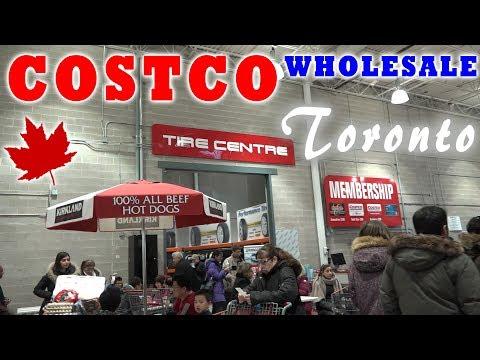COSTCO Wholesale Canada   ЦЕНЫ НА ПРОДУКТЫ в Торонто Костко оптовый магазин обзор   Жизнь в Канаде