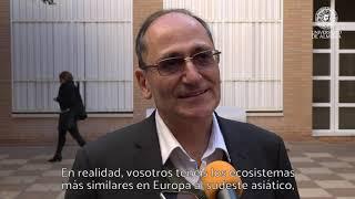 Hossein Akahni imparte una conferencia en los viernes científicos de la UAL