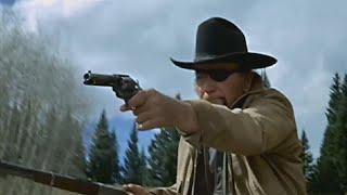 John Wayne TRUE GRIT famous meadow shootout 50 YEARS AGO