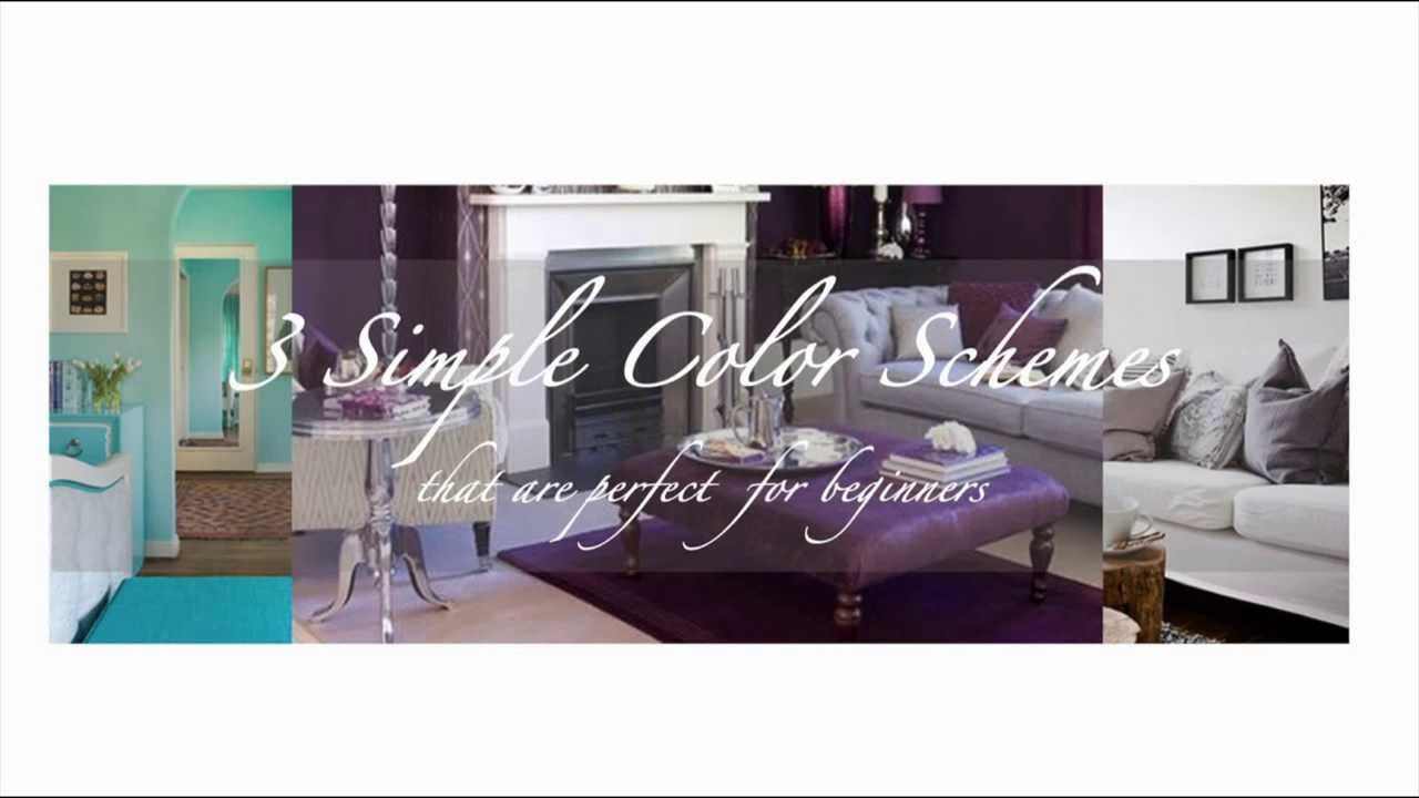 3 simple colors schemes perfect for beginners online - Interior design for beginners ...
