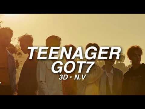 [3D AUDIO] GOT7 - TEENAGER | use headphones!!!