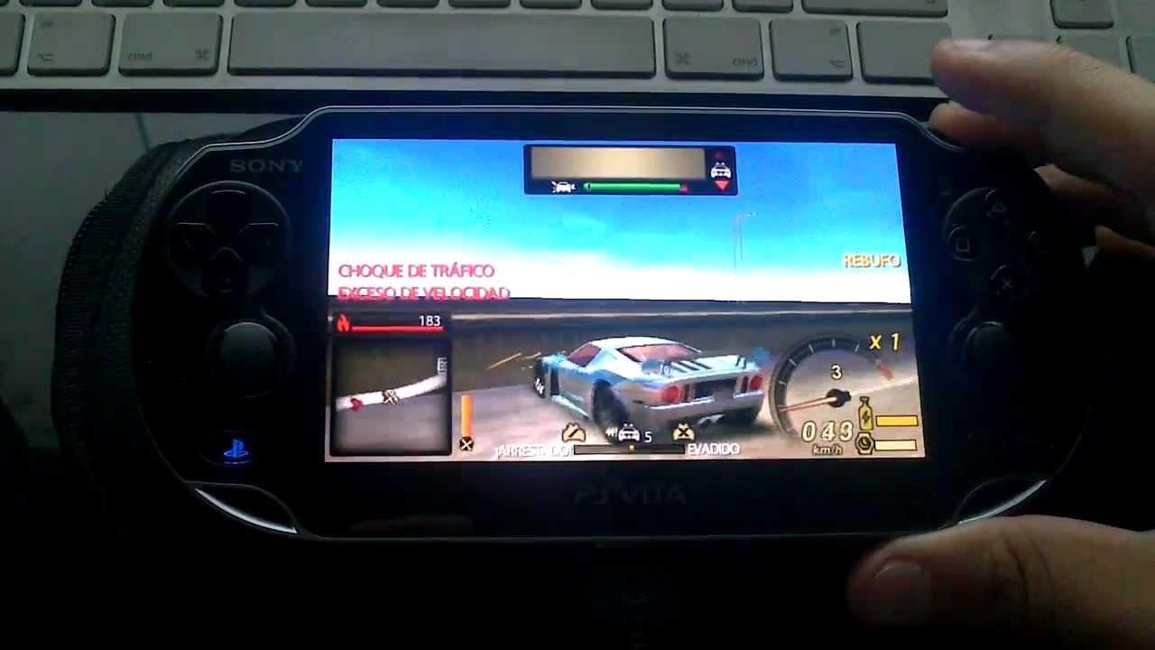 NFS Undercover PS Vita - CFW PS Vita 1.81 - Run PSP ISO ...