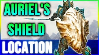 Skyrim Secrets Best Armor - Aureal's Shield Location Walkthrough